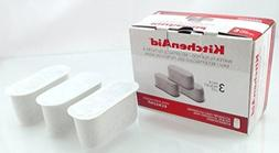 New KitchenAid Coffee Maker Water Filter Pods, 3 Pack, Model
