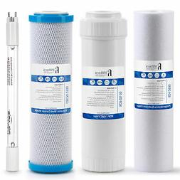 Drinking Water Replacement Filter Set for 4 stage UV Filtrat