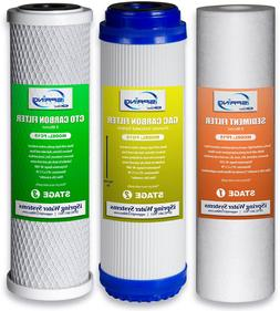 Ispring F3 10-Inch Universal Replacement Filter Set Cartridg
