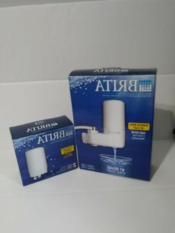 BRITA FAUCET MOUNT SYSTEM &  PACK REPLACEMENT FILTERS