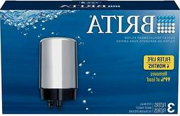 Brita Faucet Replacement Filter,FR-200 chrome 3Pack FOR MODE