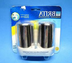 Brita Faucet Replacement Filters Chrome 2-Pack Fit FF-100/OP