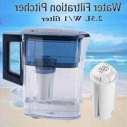 Filtration System Water Jug Pitcher Drinking Purifier W/1 Re