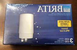 Brita FR-200 White on Tap Faucet Replacement Filter 3 Pack -