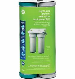 GE FXSVC - Dual Stage Drinking Water Filtration System Repla