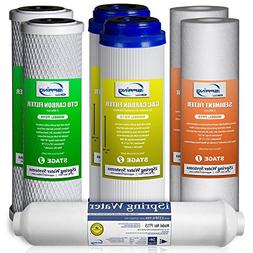 ISpring F7-GAC 1-Year Replacement Filter Set For 5-stage RO