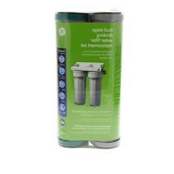 GE FXSVC Dual Stage Drinking Water Filtration System Replace
