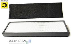 True HEPA Filter Replacement for GermGuardian FLT5000/FLT511