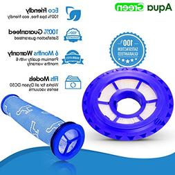 HEPA Post Filter & Washable Pre Filter Kit for Dyson DC50  #