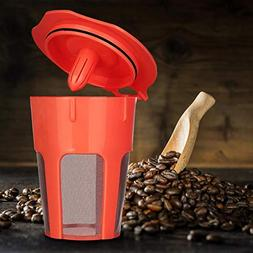 Home Decoration Coffee Filter Baskets Reusable Replacement D