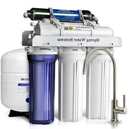 iSpring RCC7D 75 GPD Reverse Osmosis Water Filter System w/