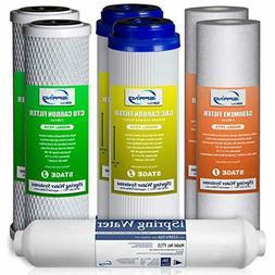 iSpring 7PK-GAC F7-GAC Filter Replacement Supply Set for 5-S