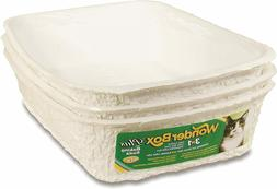 Kitty's Wonderbox Disposable Litter Box, Medium 3-Count