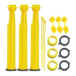 KP27 - YELLOW REPLACEMENT SPOUT KIT WITH STAINLESS STEEL FIL