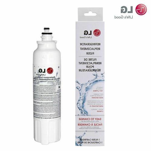 1/2/3/4/6 Pack ADQ73613401 Replacement Refrigerator Water Filter