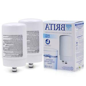 2PCS Brita On Tap FR-200 FF-100 Faucet Water Filter Replacem