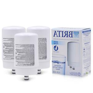 3 PACK Brita On Tap FR-200 FF-100 Faucet Water Filter Replac