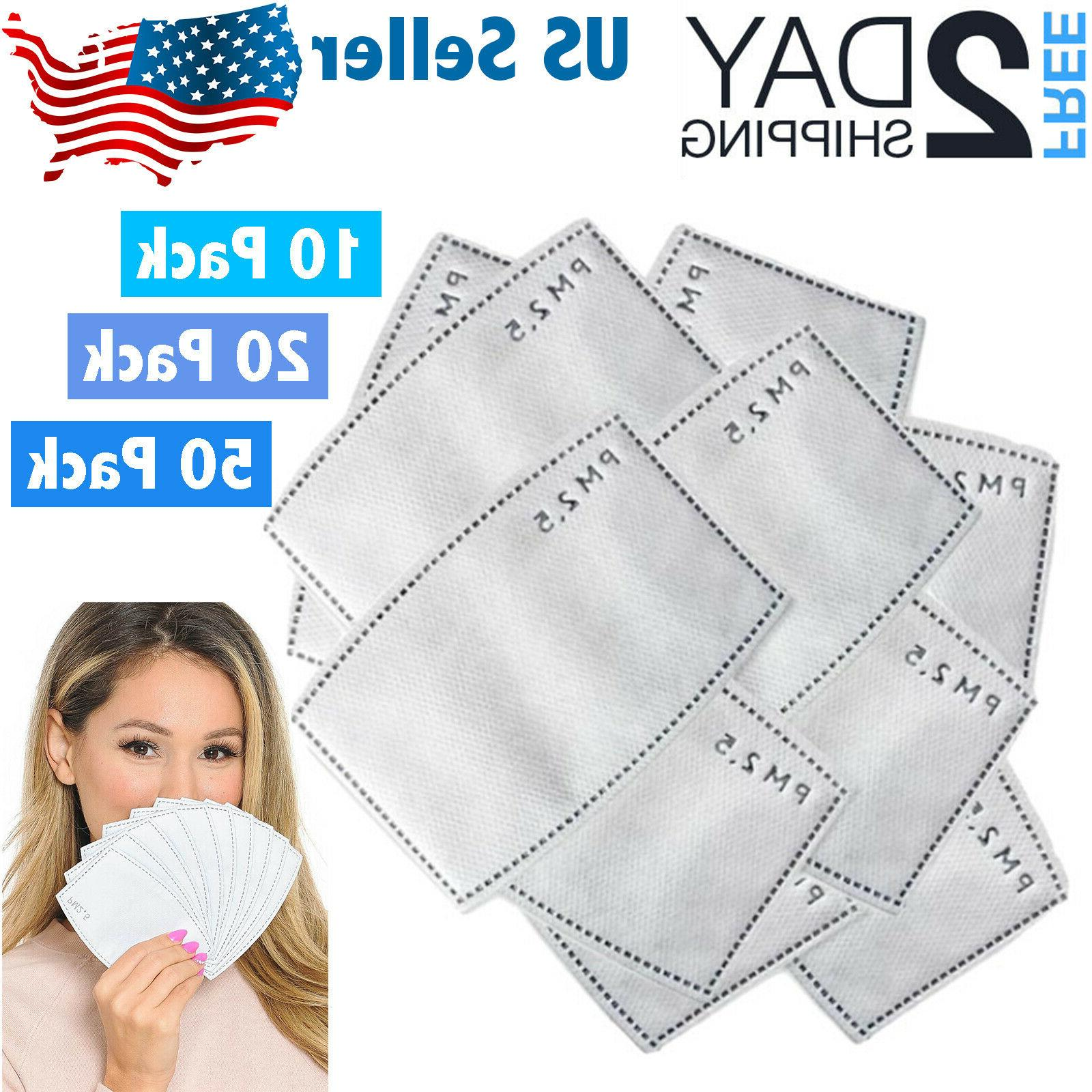 10 20 50 pack pm2 5 filters