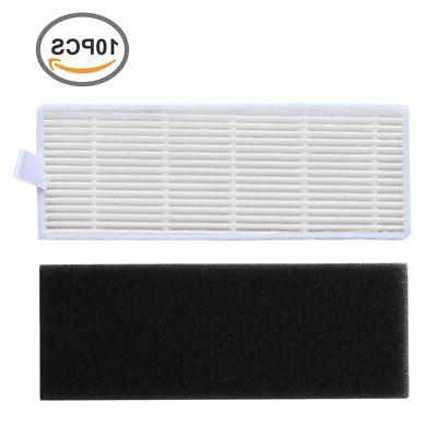10-Pack Replacement High Efficiency Filter  Sponge Filter Ki