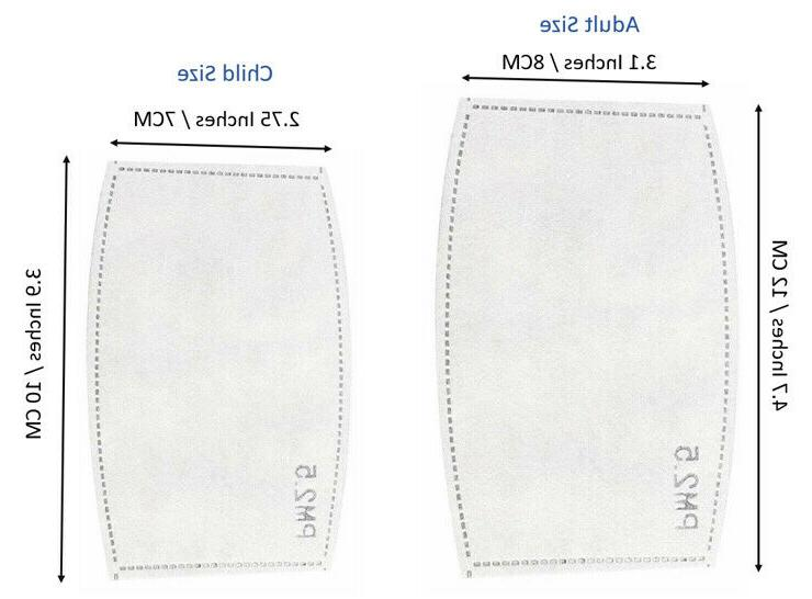 10X PM2.5 Filter Layer For Mask Safety