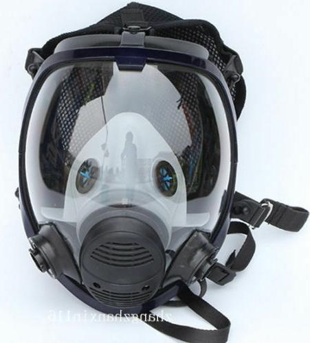 For 6800 Facepiece Respirator Full Face Painting Spraying Ga