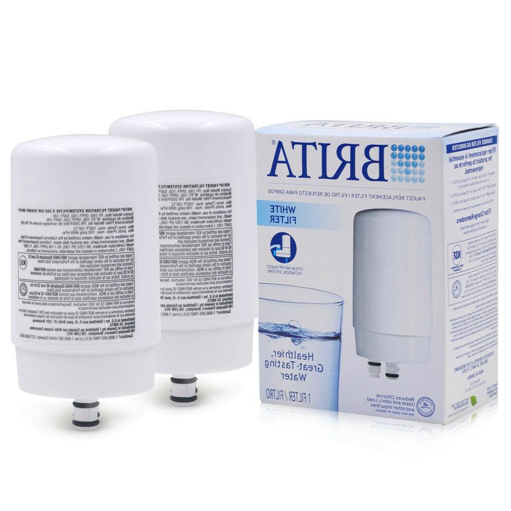 2PACK Brita On Tap FR-200 FF-100 Faucet Water Filter Replace
