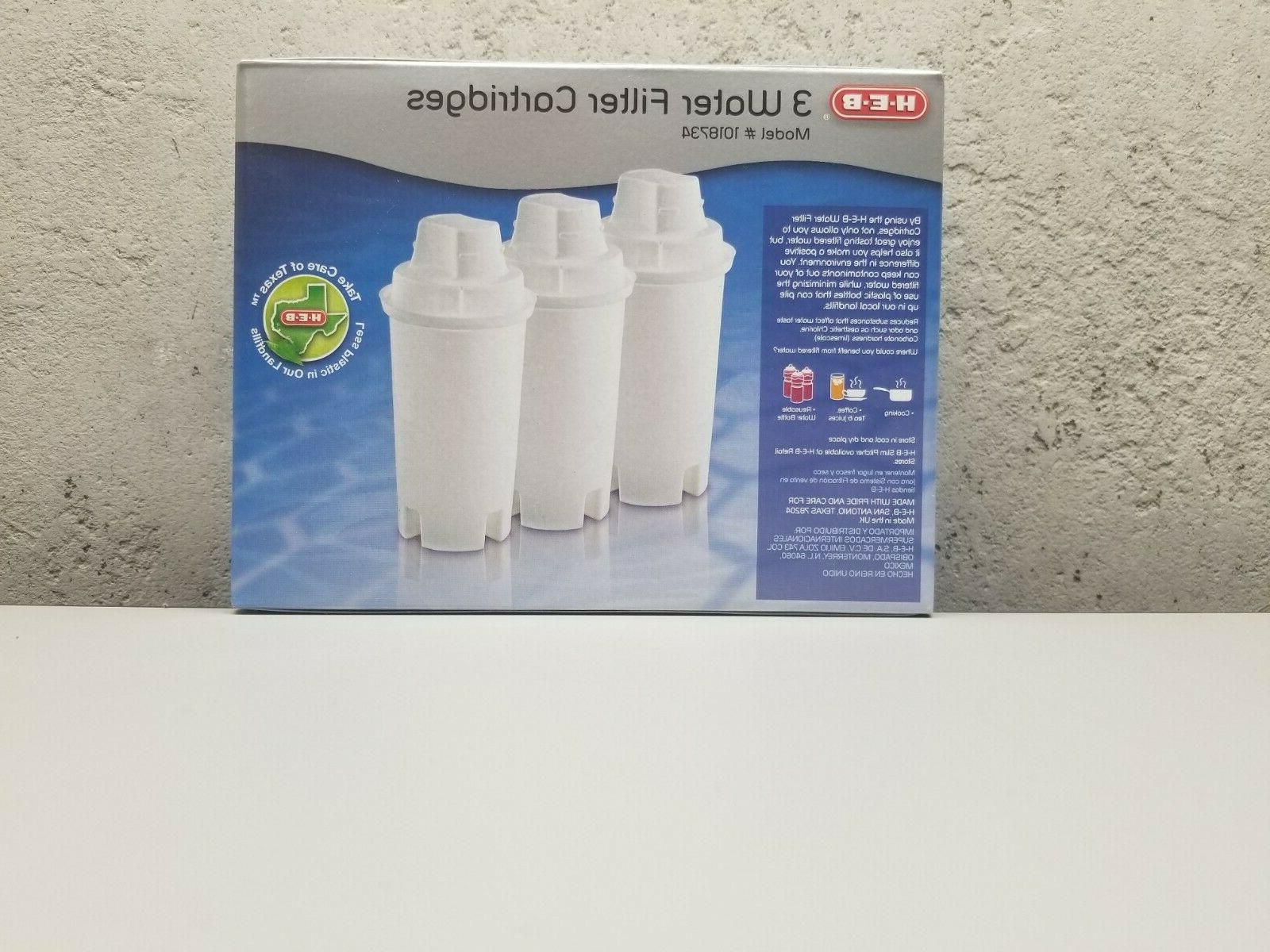3 Replacement Water Filter Cartridges and Pur