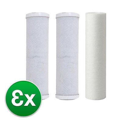 iSpring 3 Stage RO  Replacement Filter Kit W/O Membrane