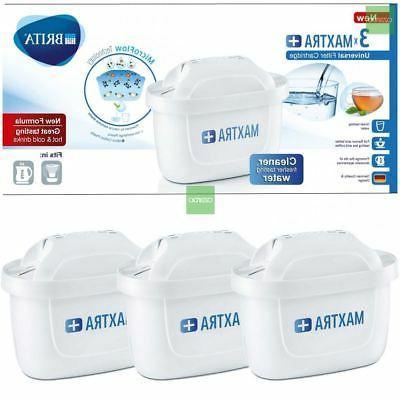 3 x BRITA Maxtra+ Plus Water Filter Jug Replacement Cartridg