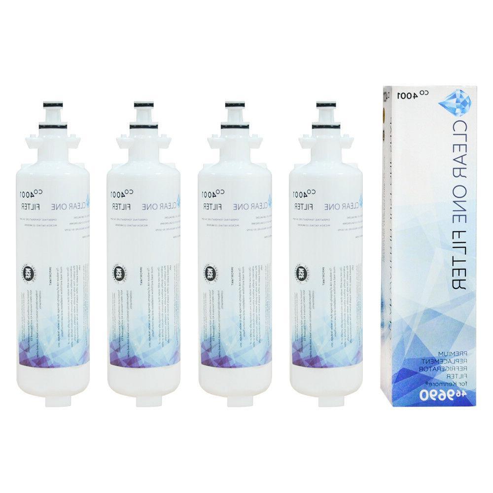 4packs Replace LG LT700P ADQ36006102 ADQ36006101 Water Filte