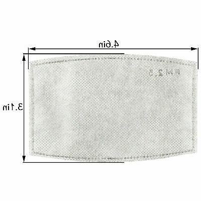 Carbon Filters Replacement For Face Mask Cover