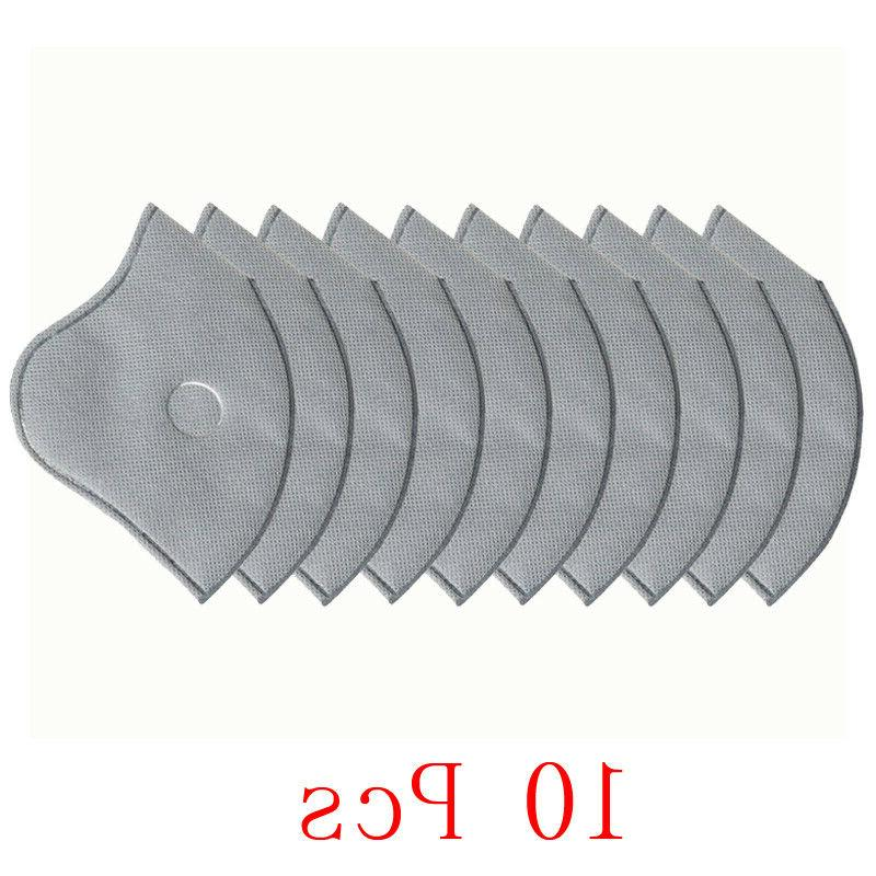50pcs 5-Layer PM2.5 Replaceable Filter