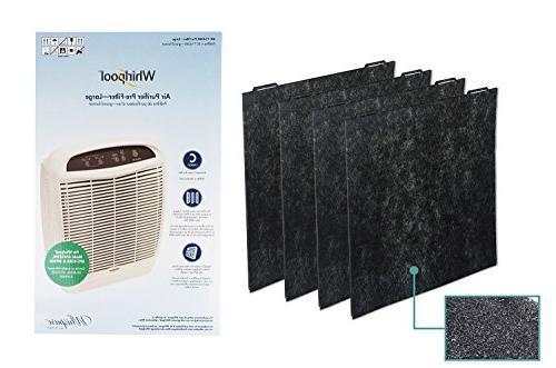 Whirlpool 8171434K , 4-Pack , Air Purifier Carbon Pre-Filters, Air Purifier APR45130L, WP500, 18x16.5 inch
