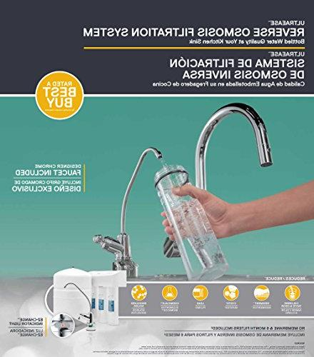 Whirlpool WHER25 Sink Water System NSF Safe, with Fewer Filter
