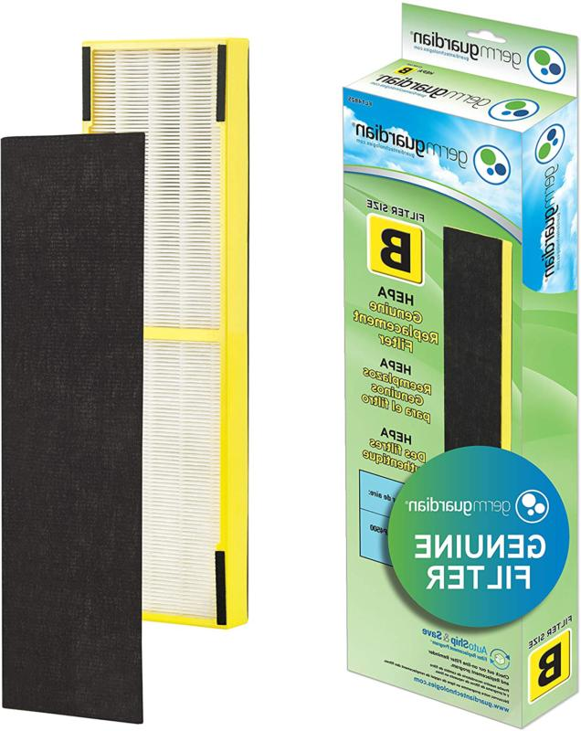 Air Purifier Replacement HEPA Filter Home Kitchen Air Qualit