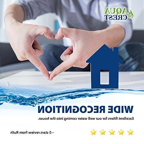 AQUACREST Filter, Aqua-Pure AP801, WHKF-GD25BB, 5