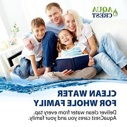 AQUACREST House Filter, Compatible Aqua-Pure WHKF-GD25BB,