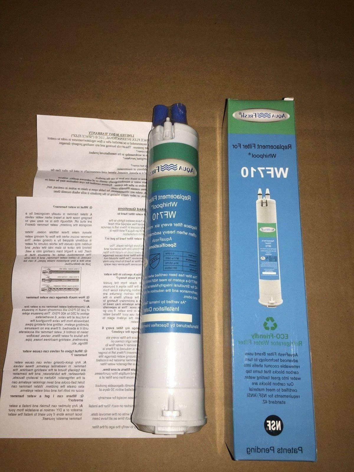 aquafresh wf710 whirlpool replacement refrigerator water fil