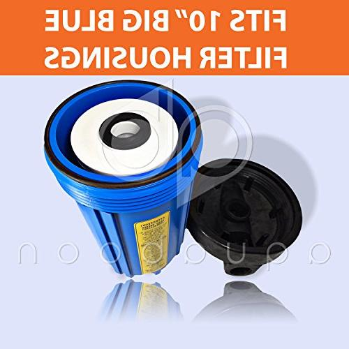 4-PACK Blue 5 Coconut Shell Filter Cartridges 4.5