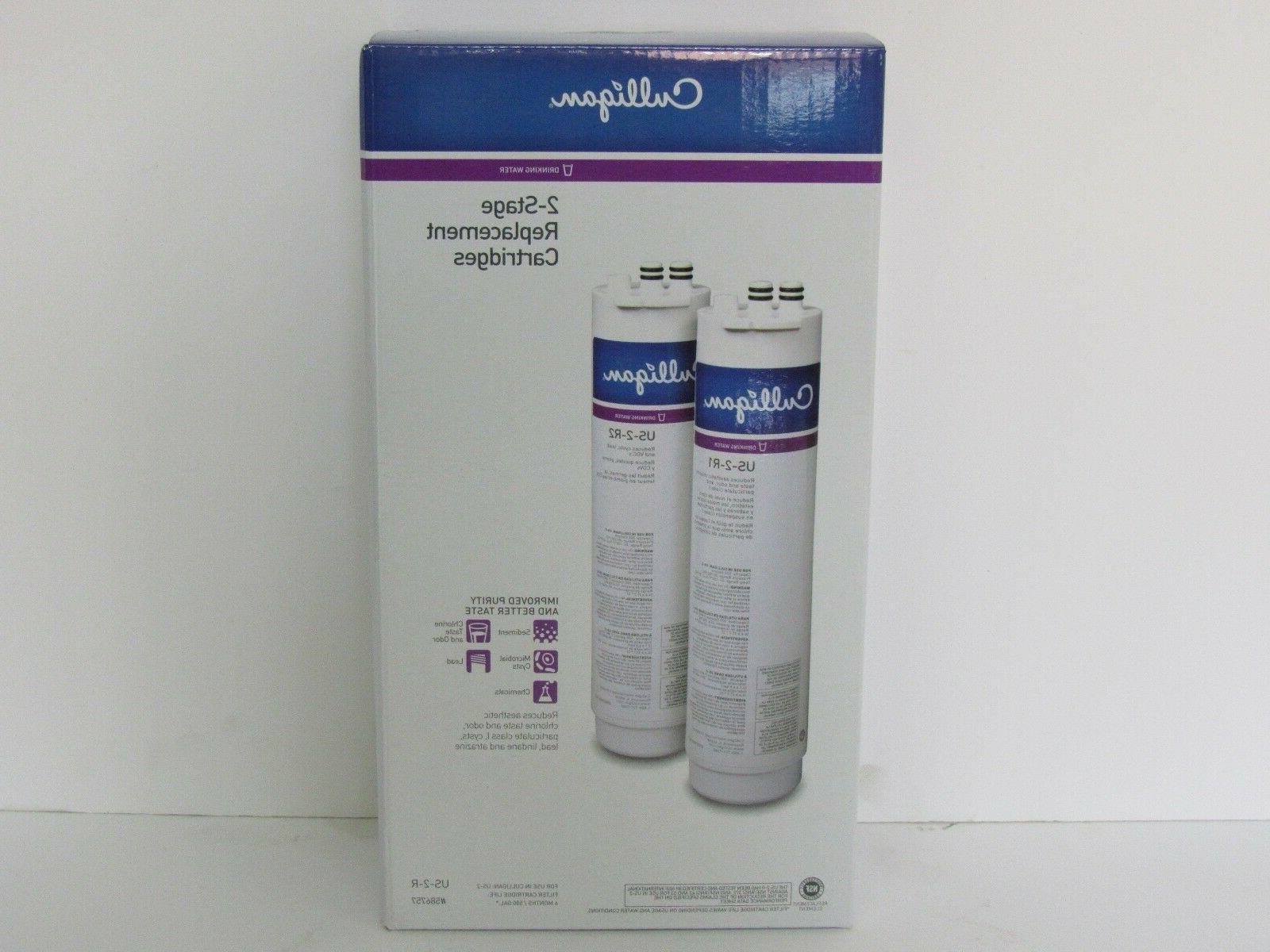 Culligan Brand 2-Pack US-2R Filtration System Under Sink Rep