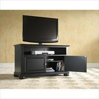 Crosley Furniture KF10003ABK Alexandria 42 in. TV Stand in B