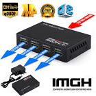 1X4 Full HD HDMI Splitter 4 Port Hub Repeater Amplifier v1.4