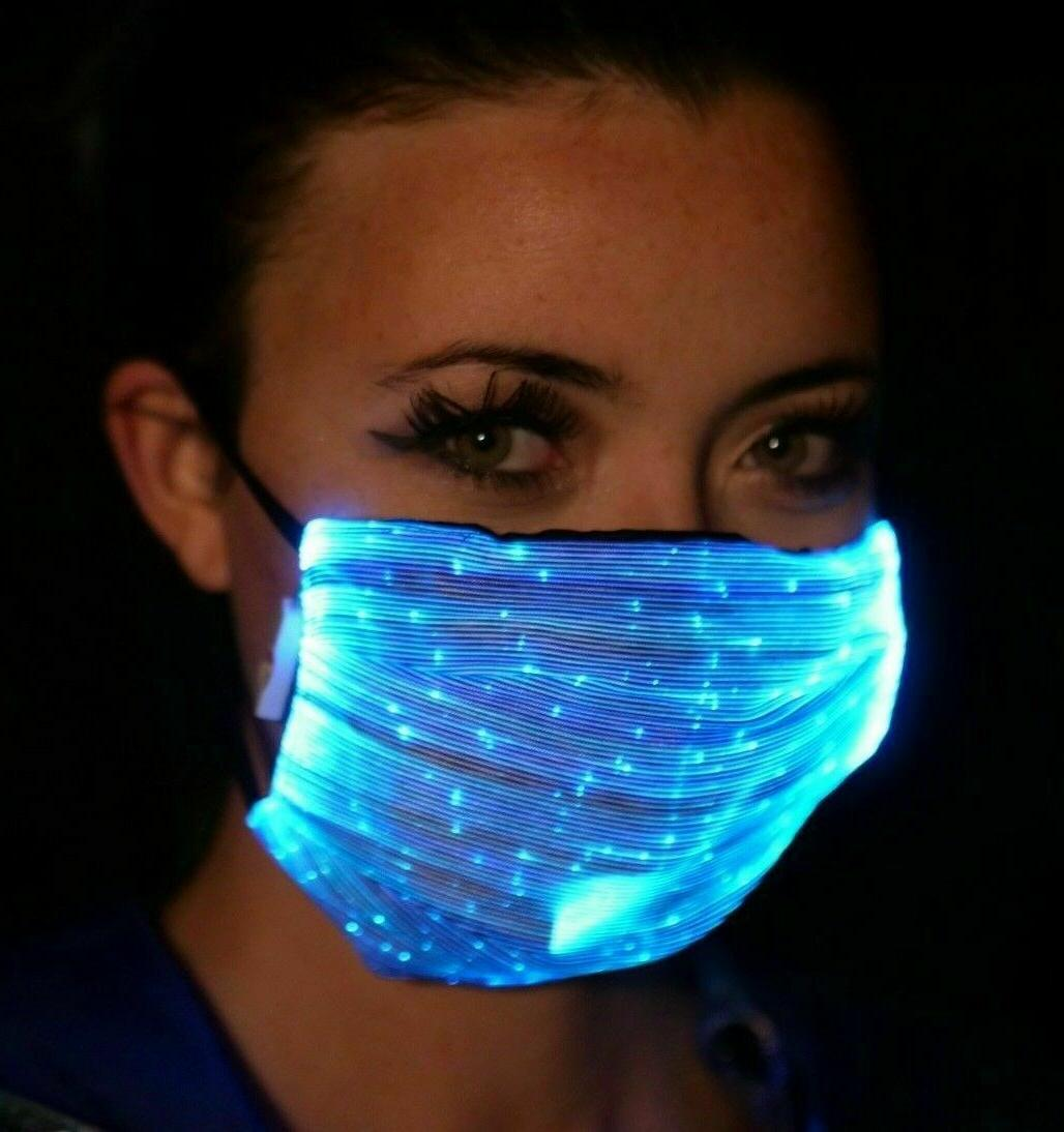 Fiber LED Face with PM2.5