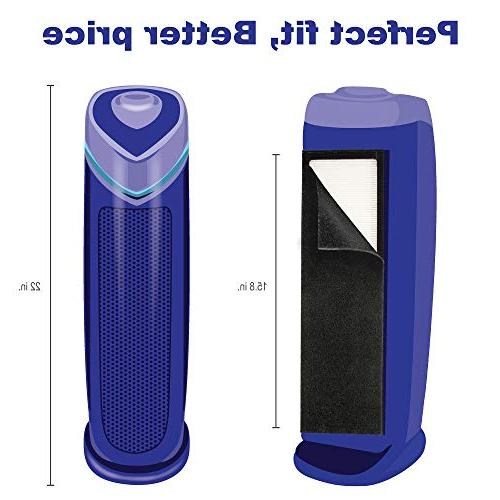 FLT4825 True Filter for GermGuardian AC4825 Home Air Purifiers, AC4300BPTCA with Pet Technologies, Systems