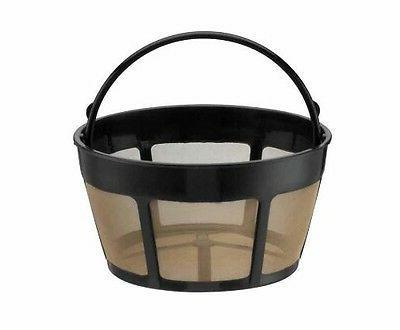 2 foCuisinart Gold Tone 8-12 Cup Permanent Basket
