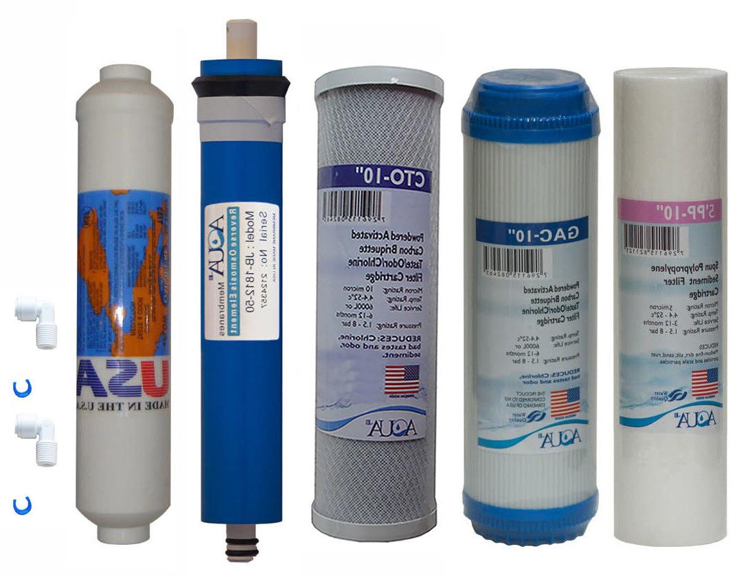 full 5 stage reverse osmosis replacement filter
