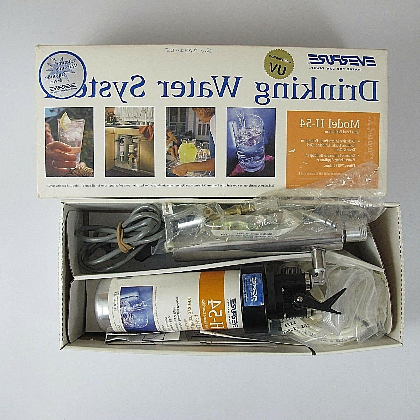 Everpure H-54 Drinking Water Filter System . Quick Change Ca