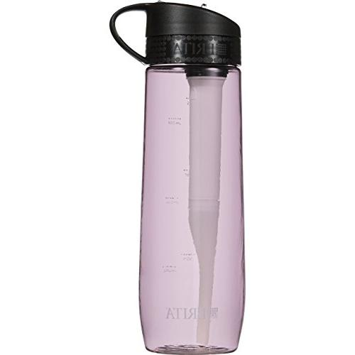 Brita 23.7 Ounce Hard Sided Water Bottle with Filter - BPA F