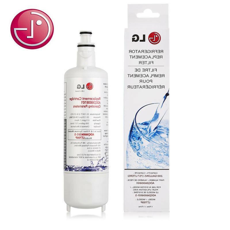 oem lt700p adq36006101 refrigerator replacement water filter