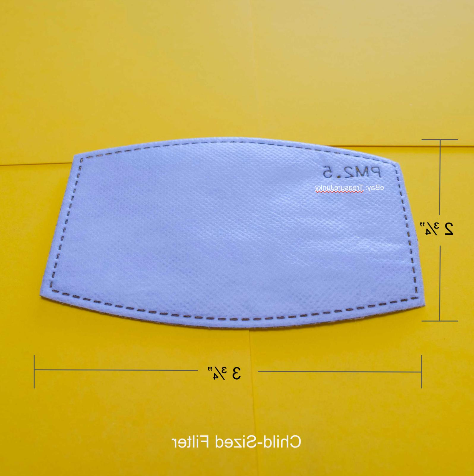 PM2.5 Replacement Carbon Adhesive Backing Adult
